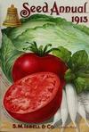 Légume Tomate de EVERETT Rusty Oxheart Heirloom organique Graines